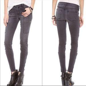J Brand Kassidy skinny jeans in grey cascade sz 28